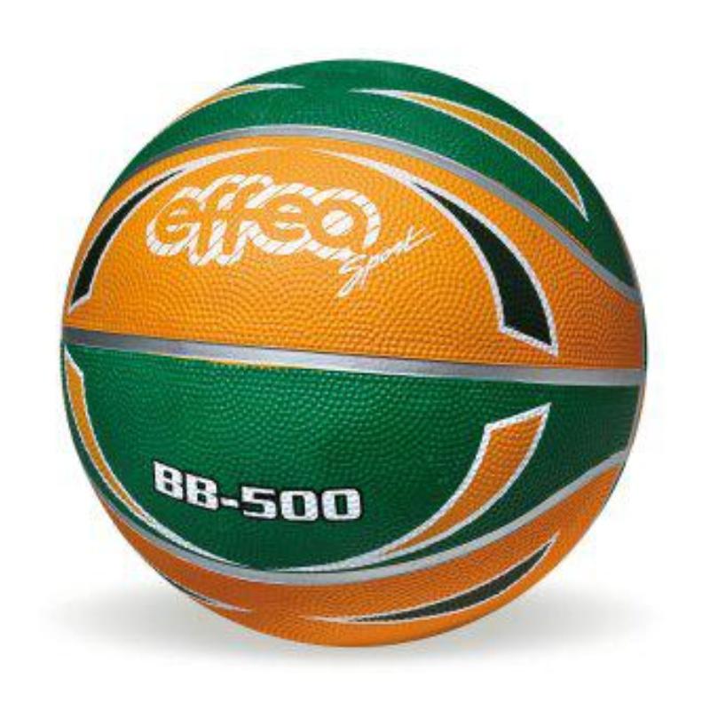 Basketbalový míč EFFEA Color 6861 zeleno-oranžový