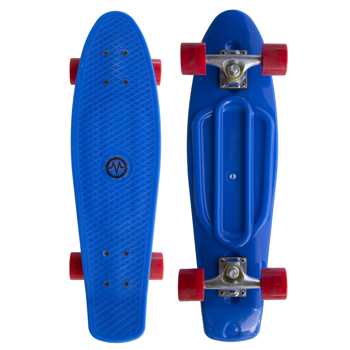"Plastik Penny Board MASTER 27"" - modrý"