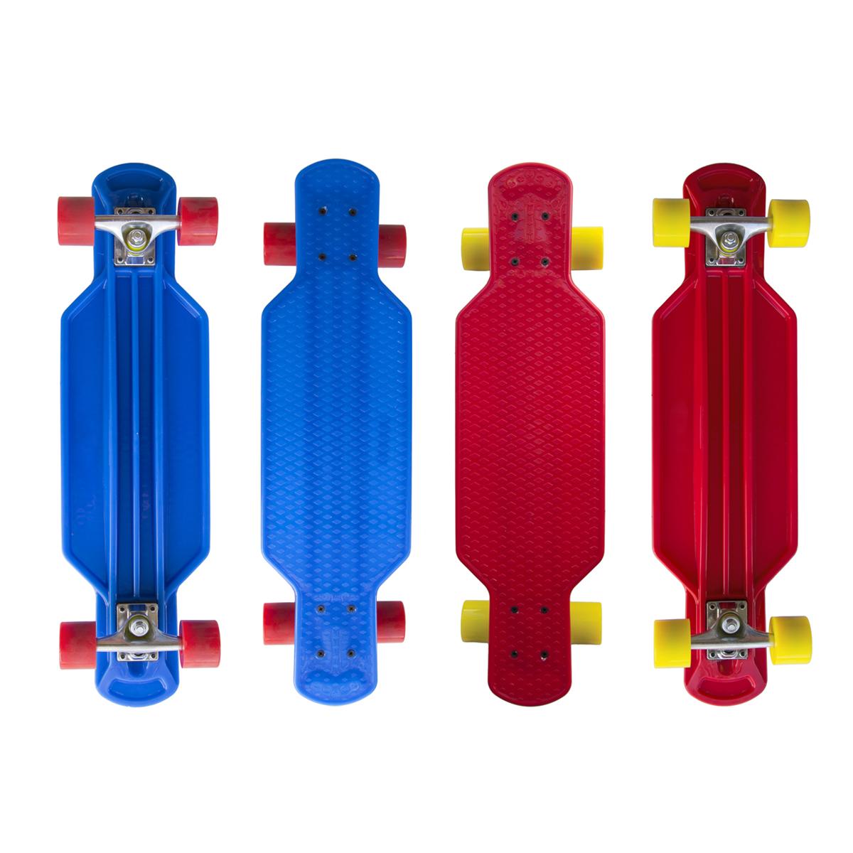 """Plastik Longboard MASTER 29"""" - červený"""