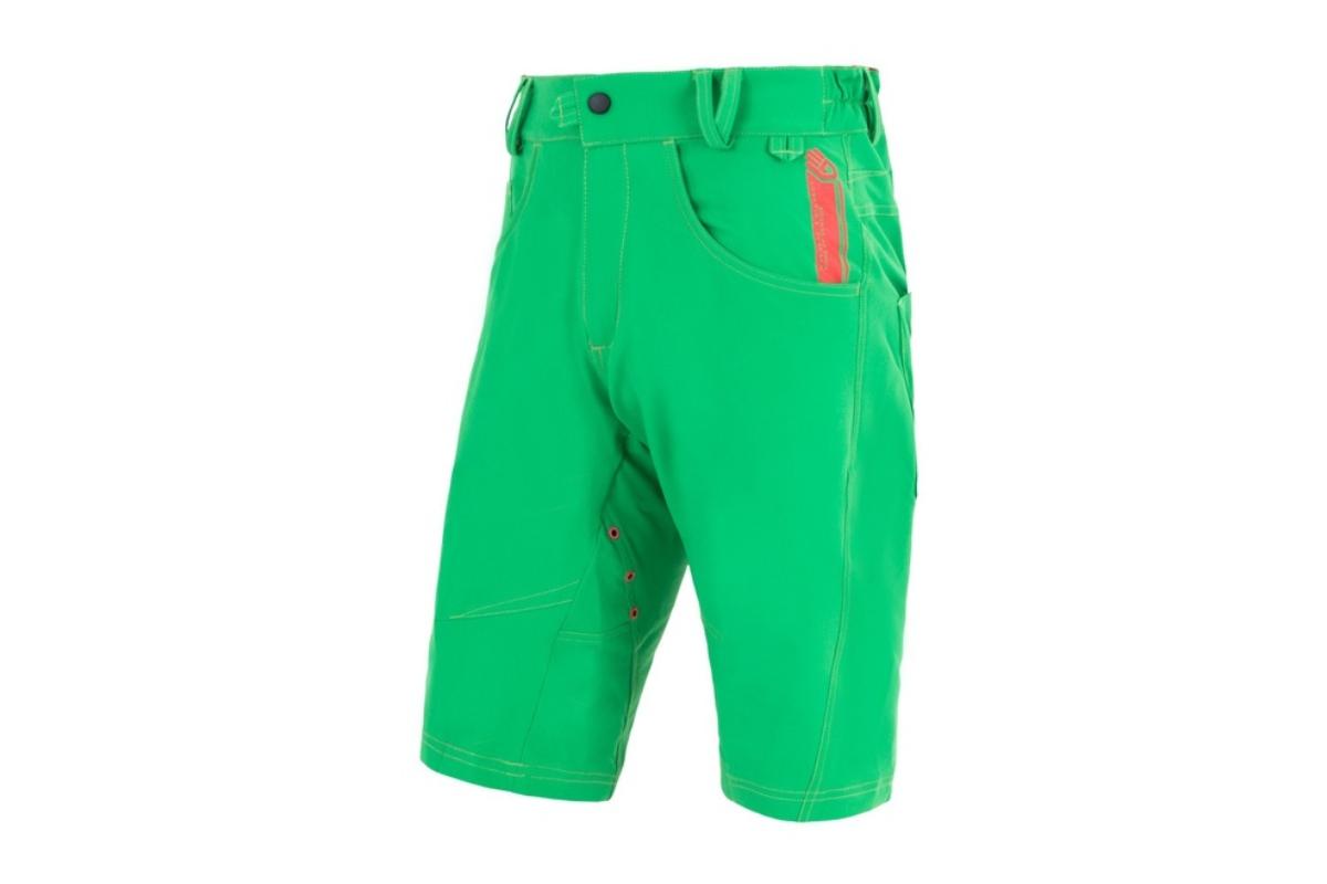 Kalhoty cyklo SENSOR Charger pánské S zelené