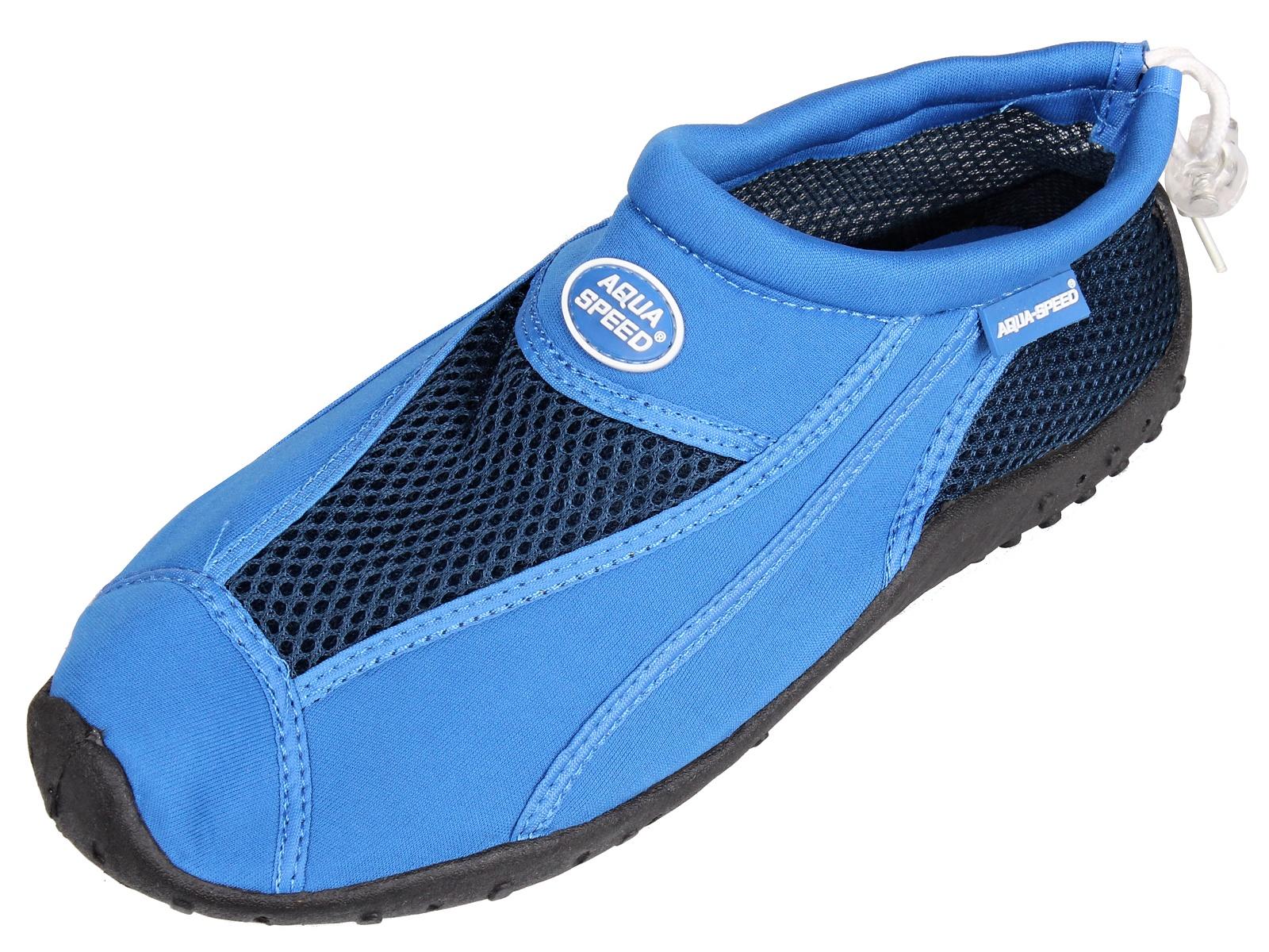 Boty do vody AQUA-SPEED 8 modré - vel. 40