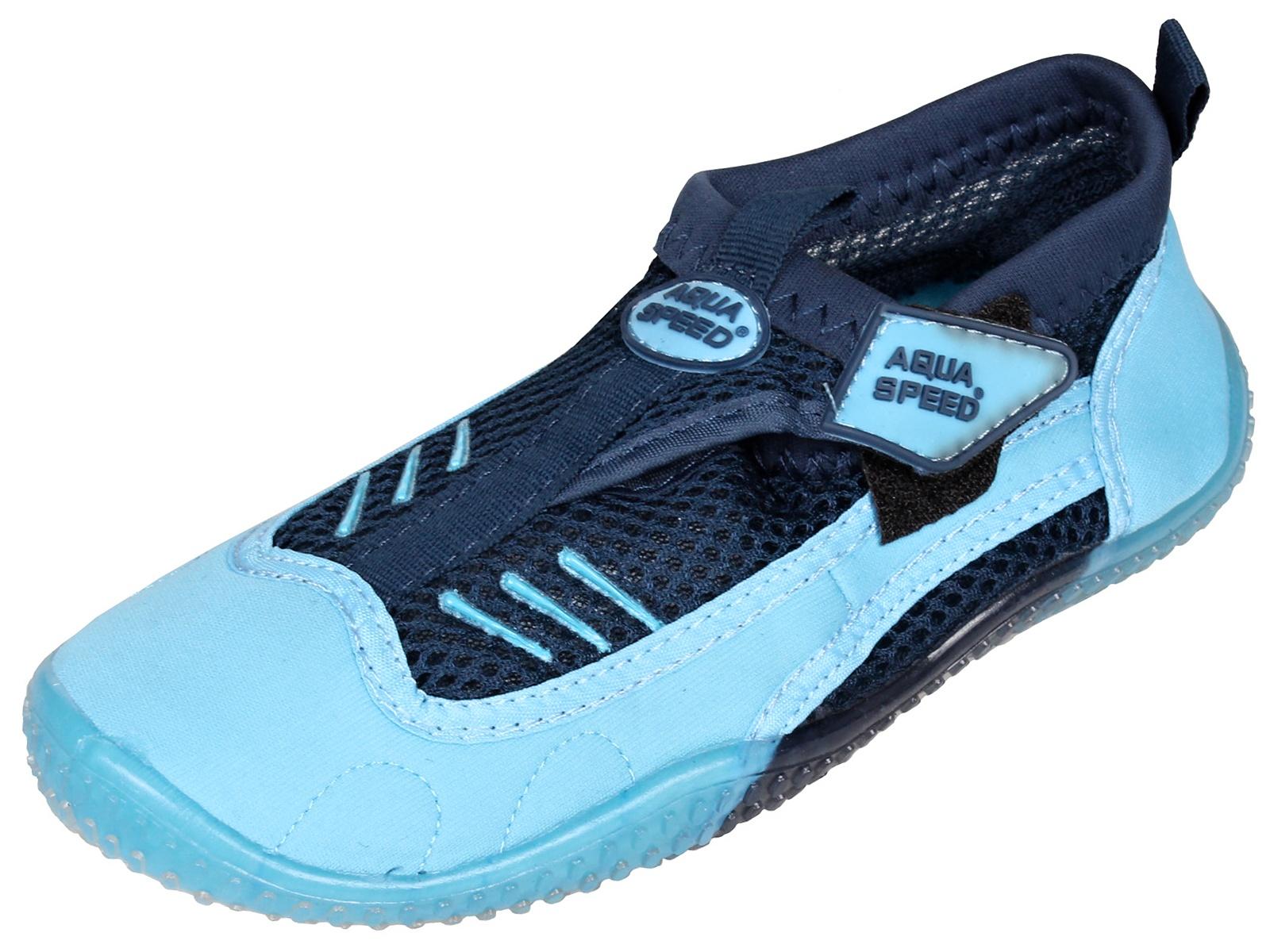 Boty do vody AQUA-SPEED 7A modré - vel. 35