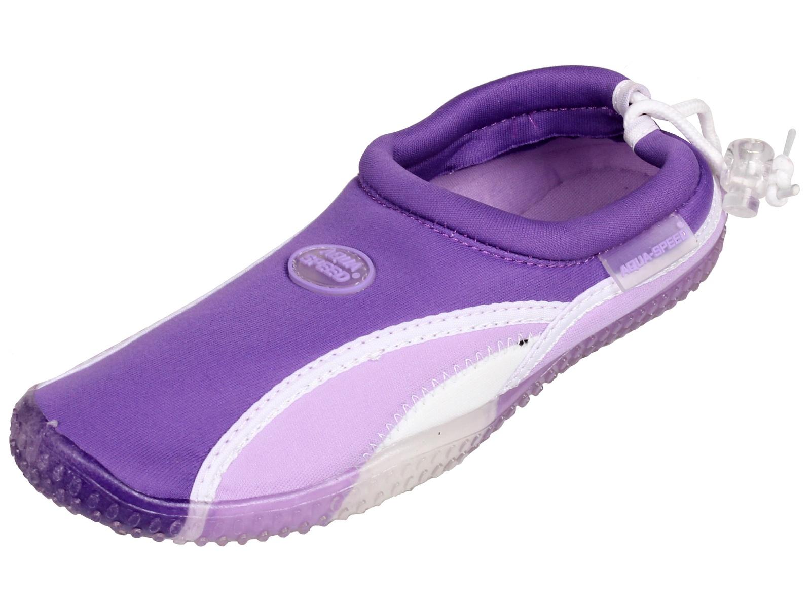 Boty do vody AQUA-SPEED 12B fialové - vel. 37