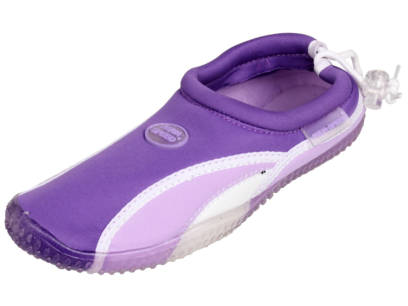 Boty do vody AQUA-SPEED 12B fialové - vel. 38