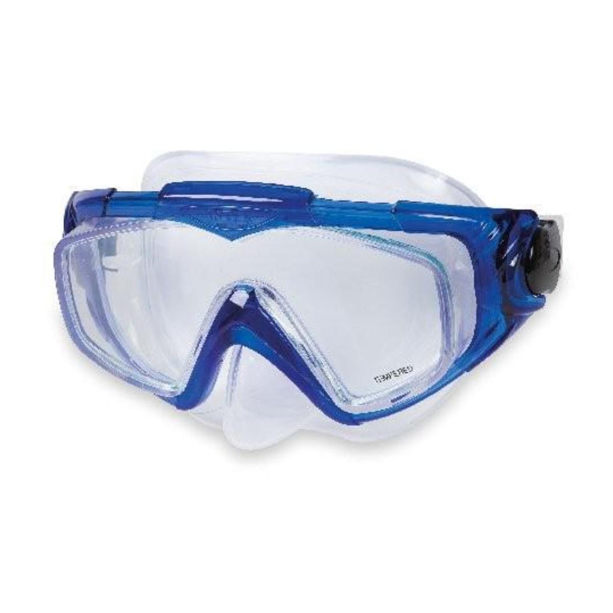 Potápěčské brýle INTEX Aqua Pro Silicon - modré