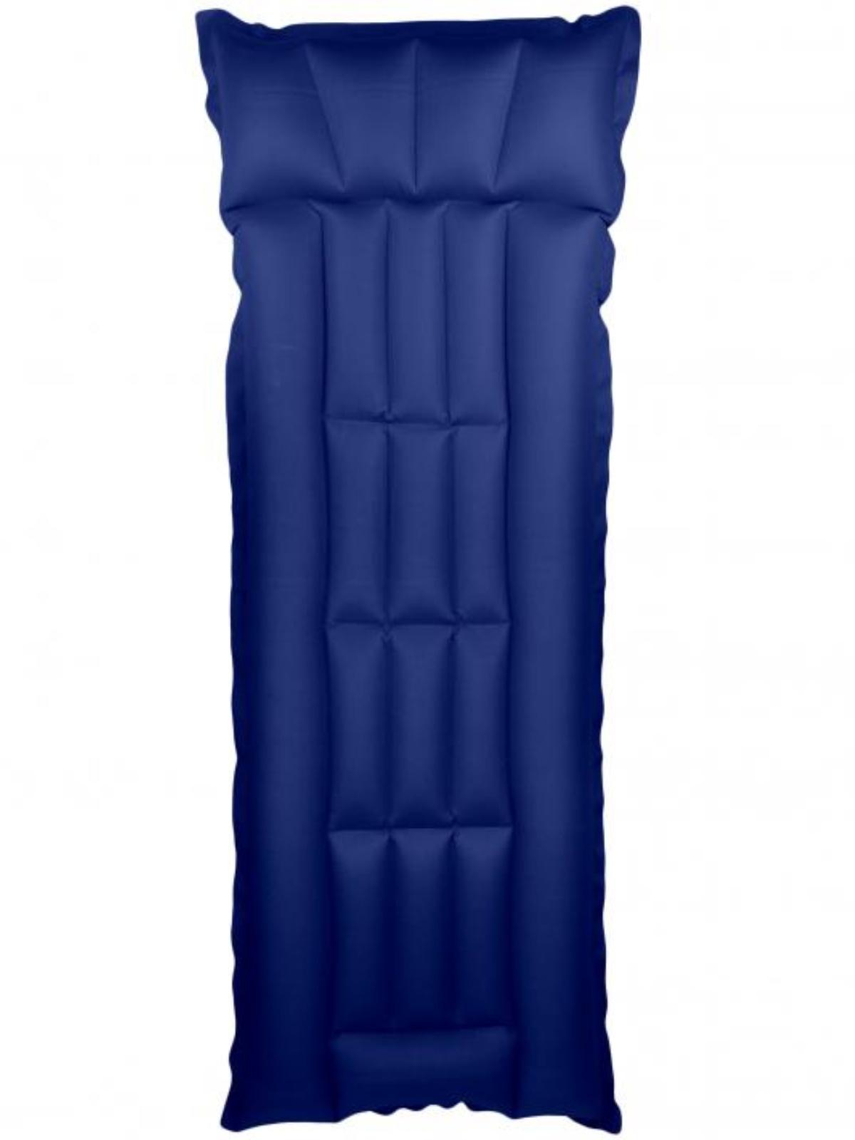 Nafukovací lehátko gumotextilní Bára 2 dílné - modré