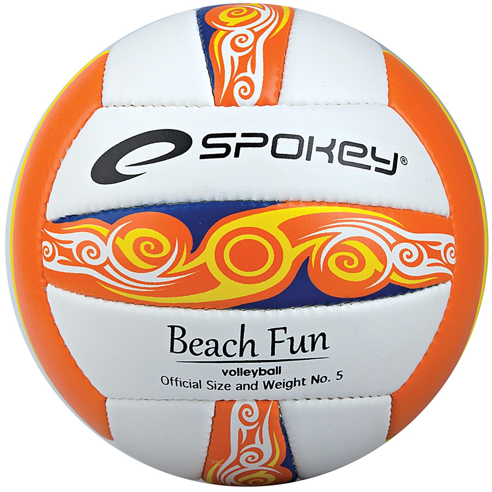 Volejbalový míč SPOKEY Beachfun oranžový