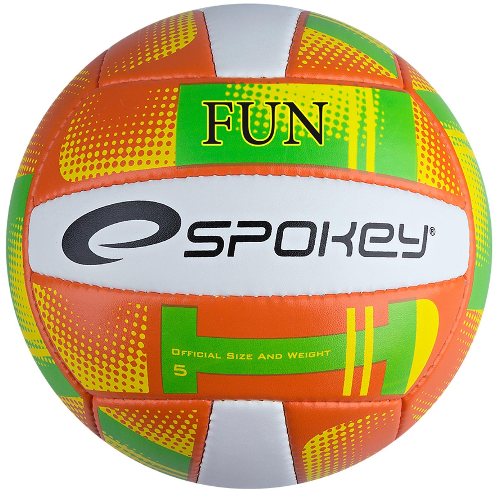 Volejbalový míč SPOKEY Fun III oranžový