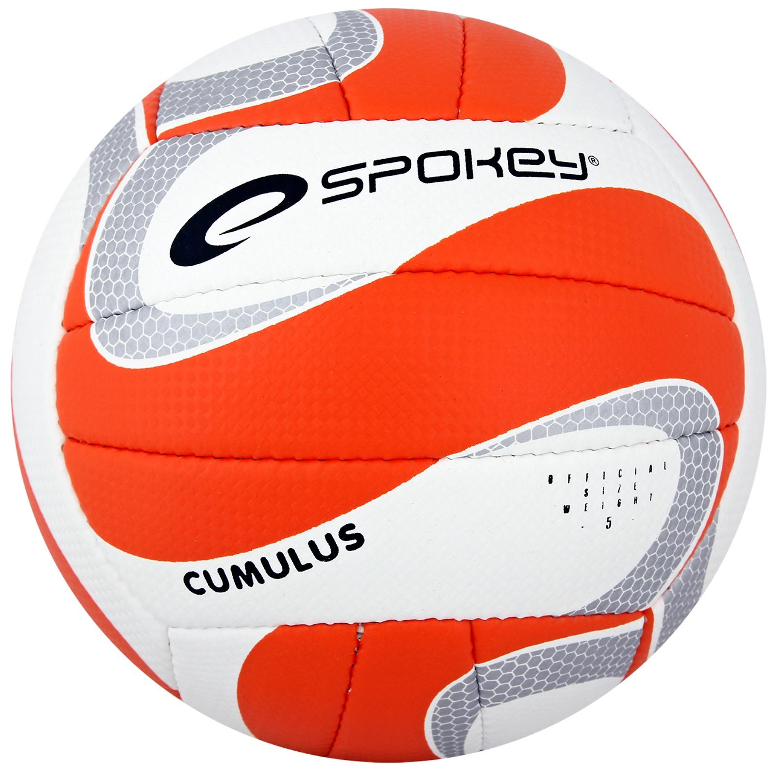 Volejbalový míč SPOKEY Cumulus II oranžový