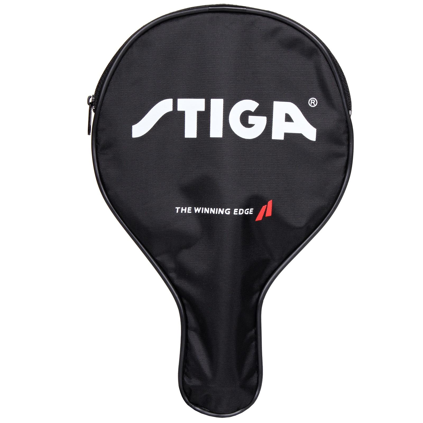 Obal na pálku na stolní tenis STIGA Stiga obrys - černý