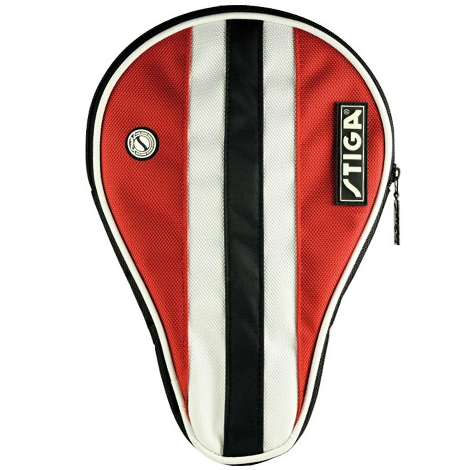 Obal na pálku na stolní tenis STIGA Line obrys - červený