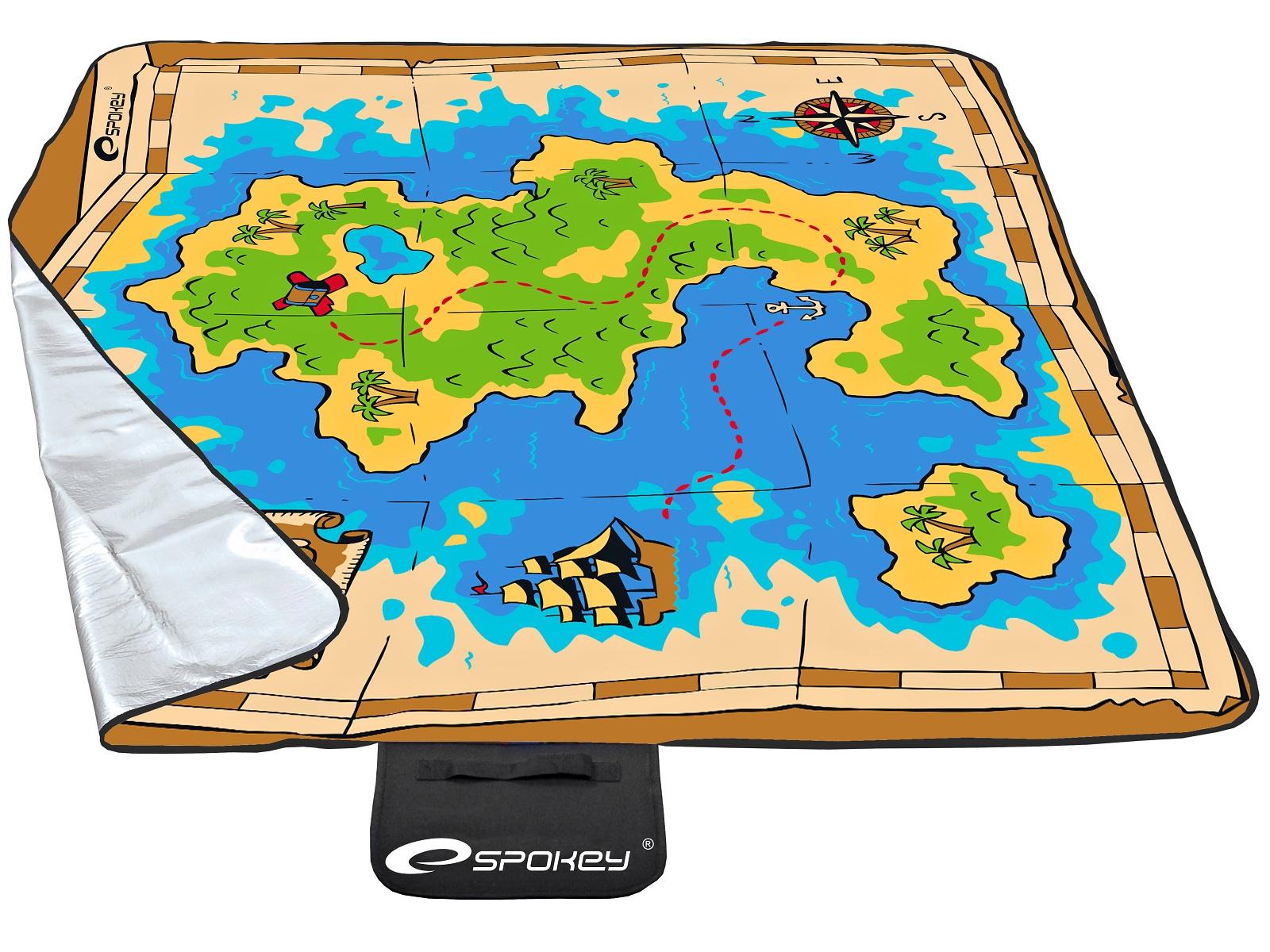 Piknik deka SPOKEY Pirate