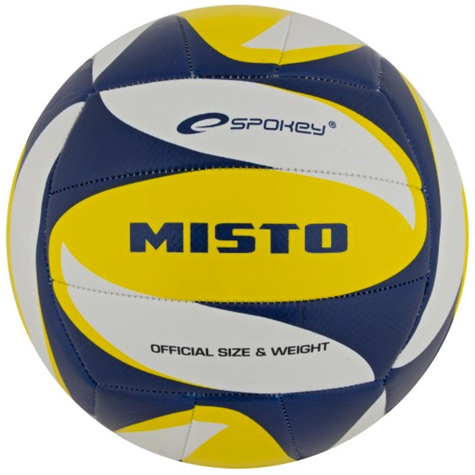 Volejbalový míč SPOKEY Místo modro-žlutý
