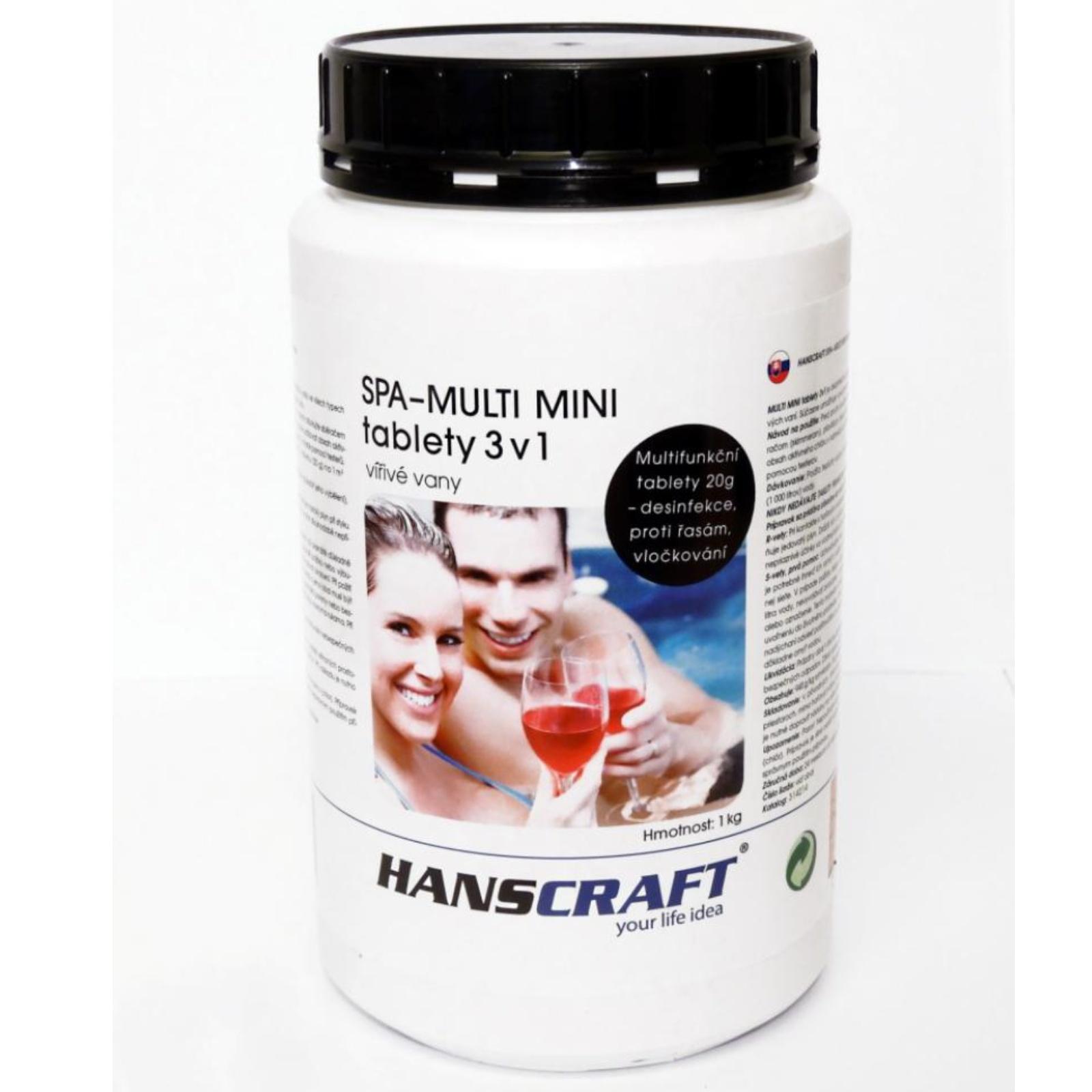 Chemie pro vířivky HANSCRAFT SPA – Multi mini tablety 3 v 1