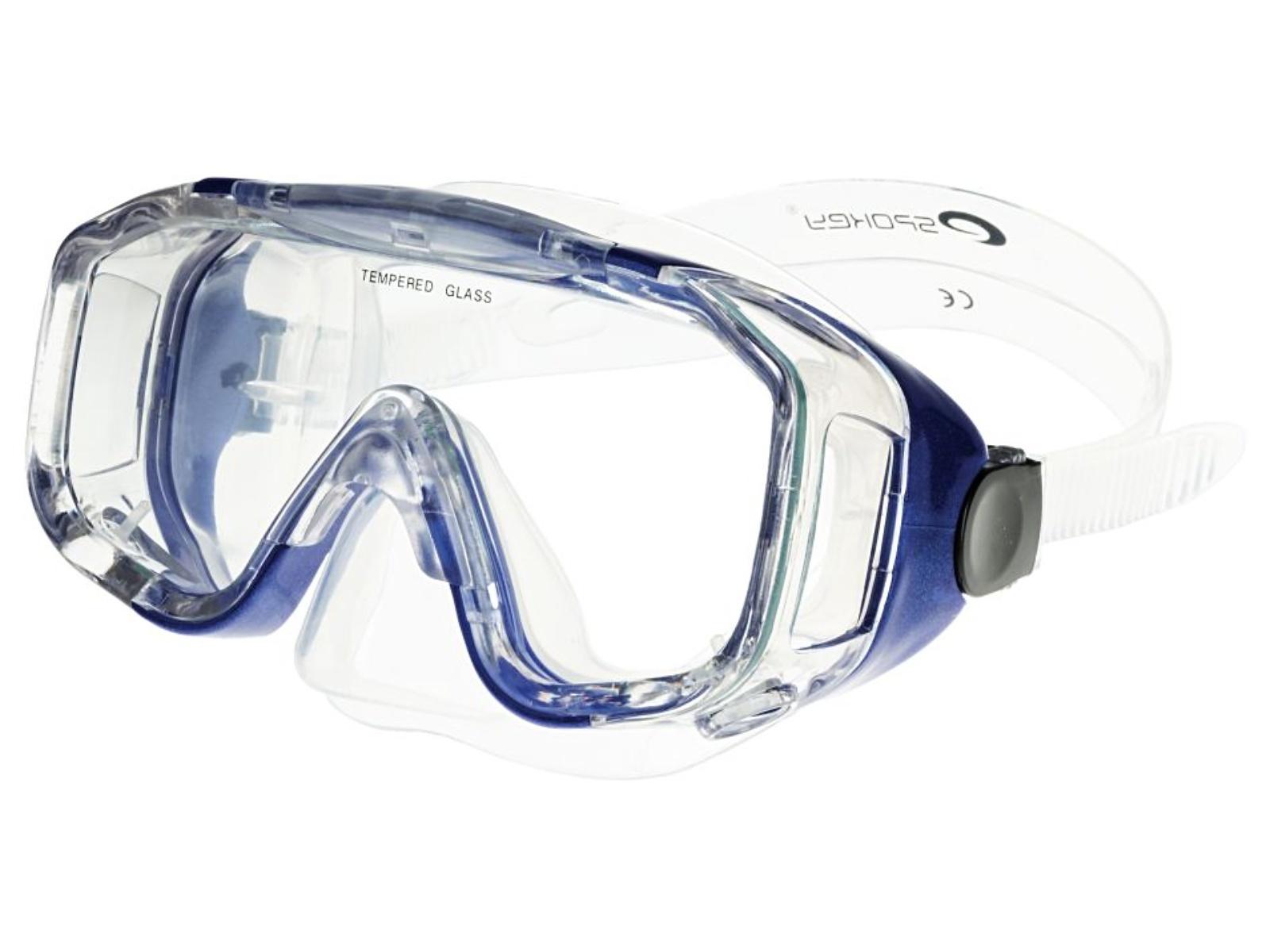 Potápěčské brýle SPOKEY Palmyra - modré