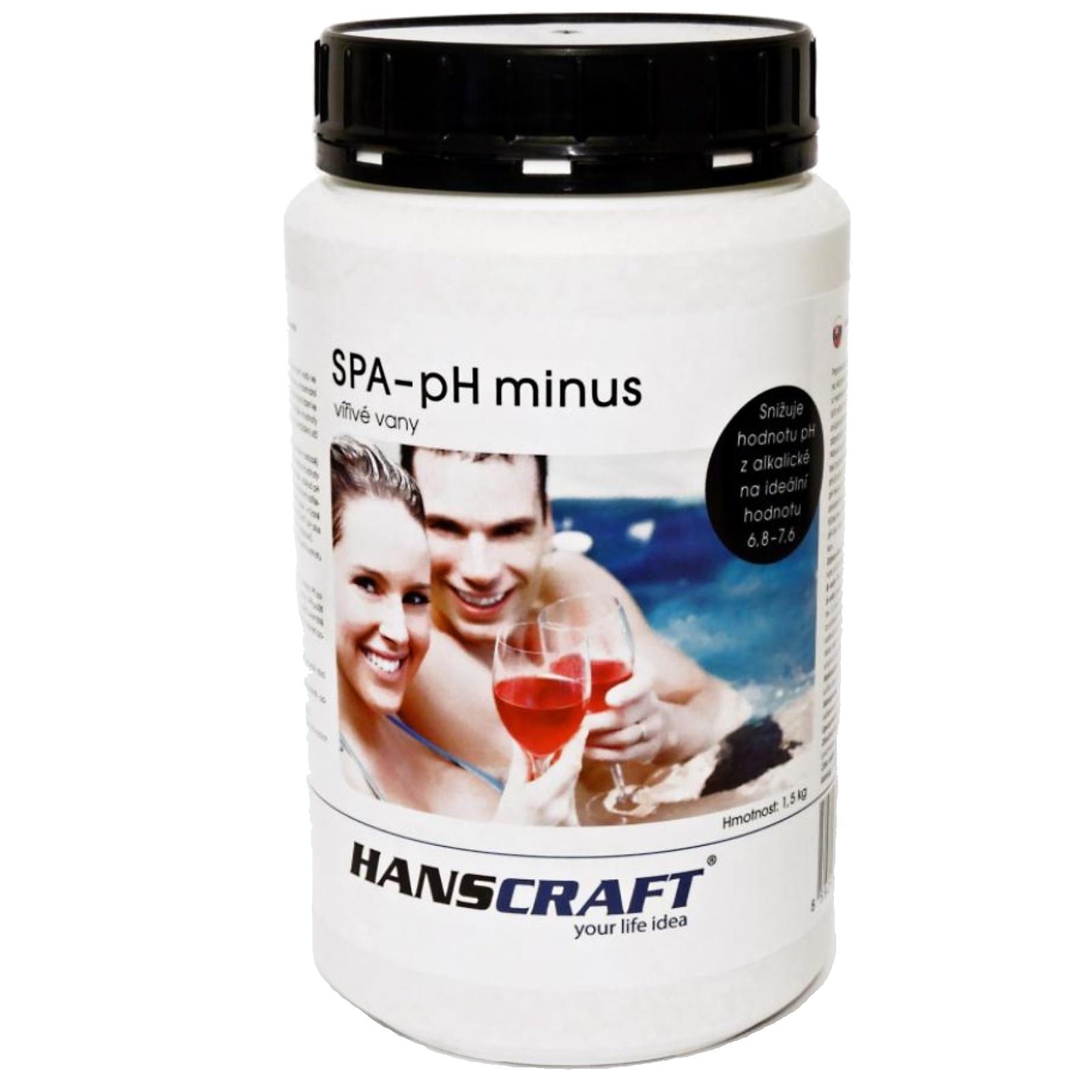 Chemie pro vířivky HANSCRAFT SPA – pH minus