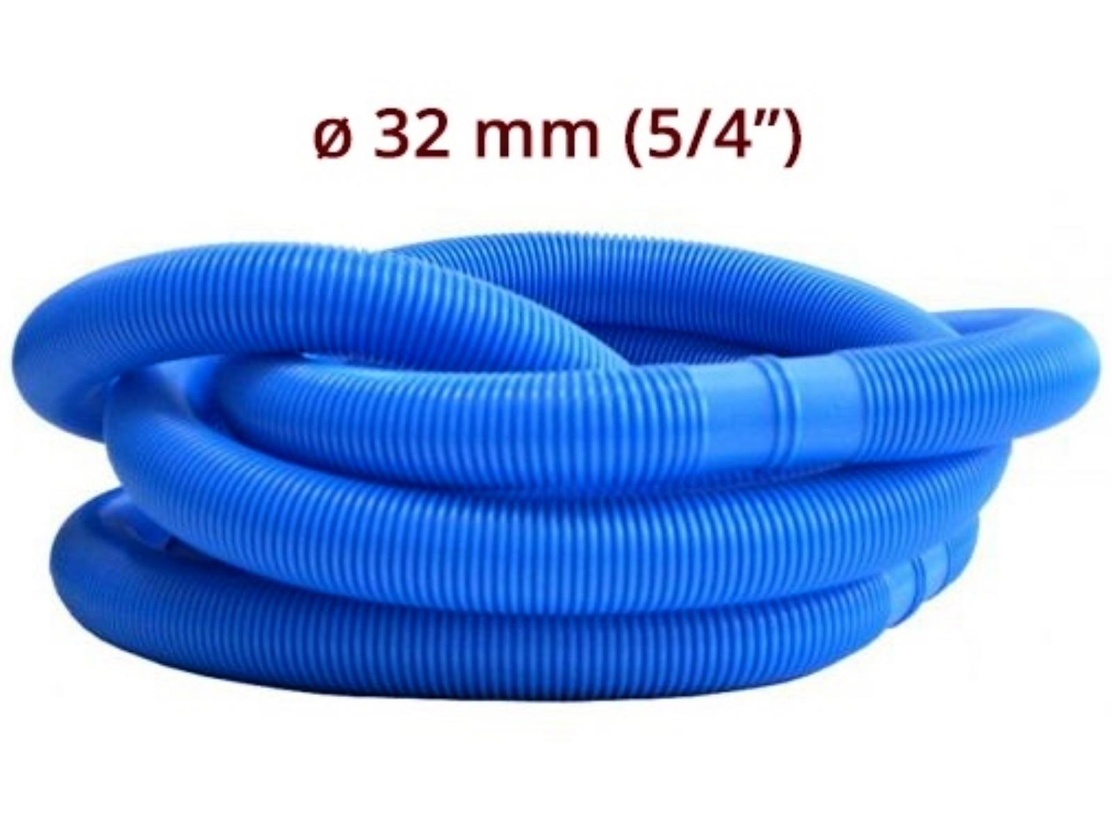 Bazénová hadice MARIMEX 1,25 m/32 mm - modrá