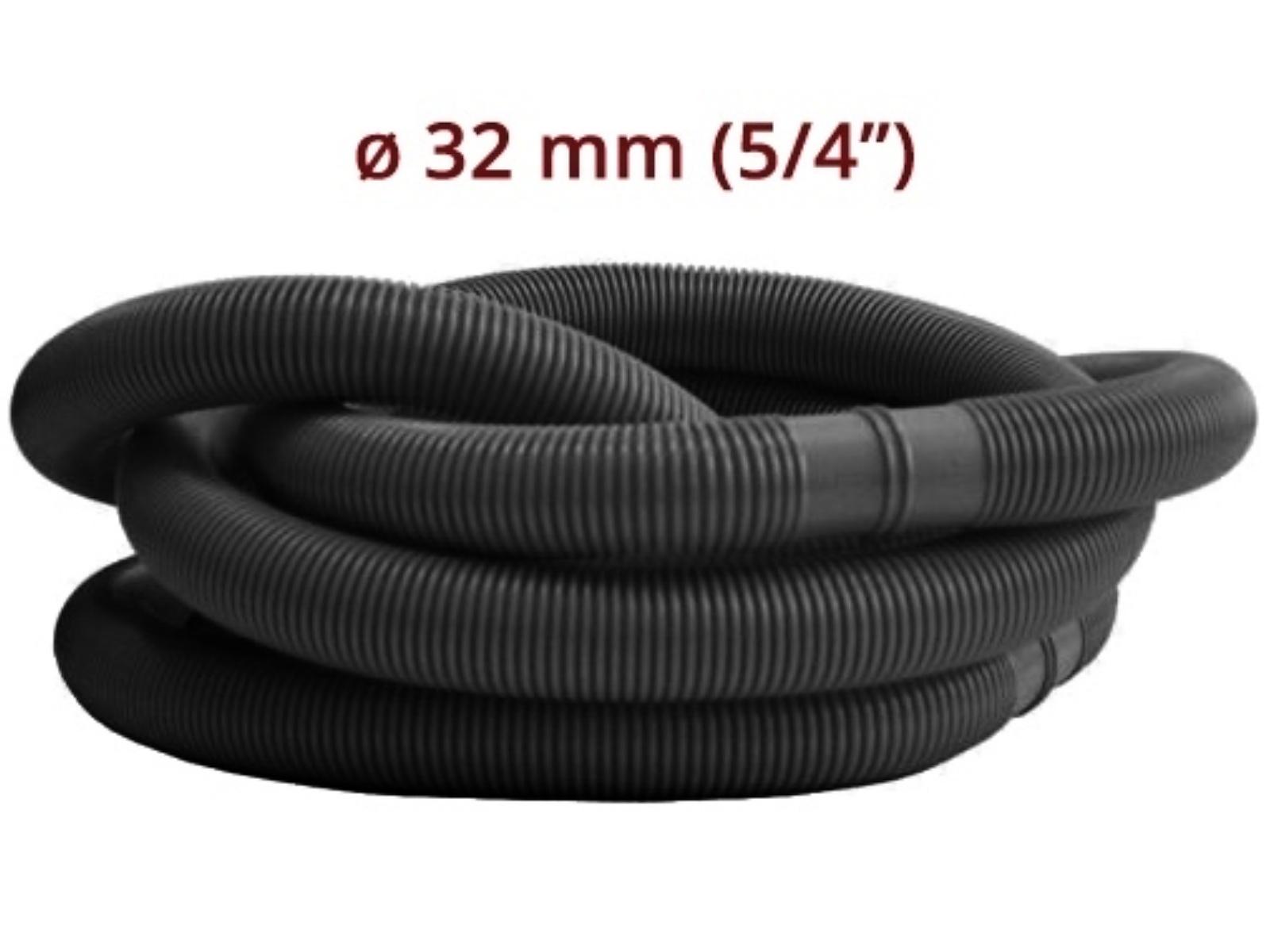 Bazénová hadice MARIMEX 1,25 m/32 mm - černá