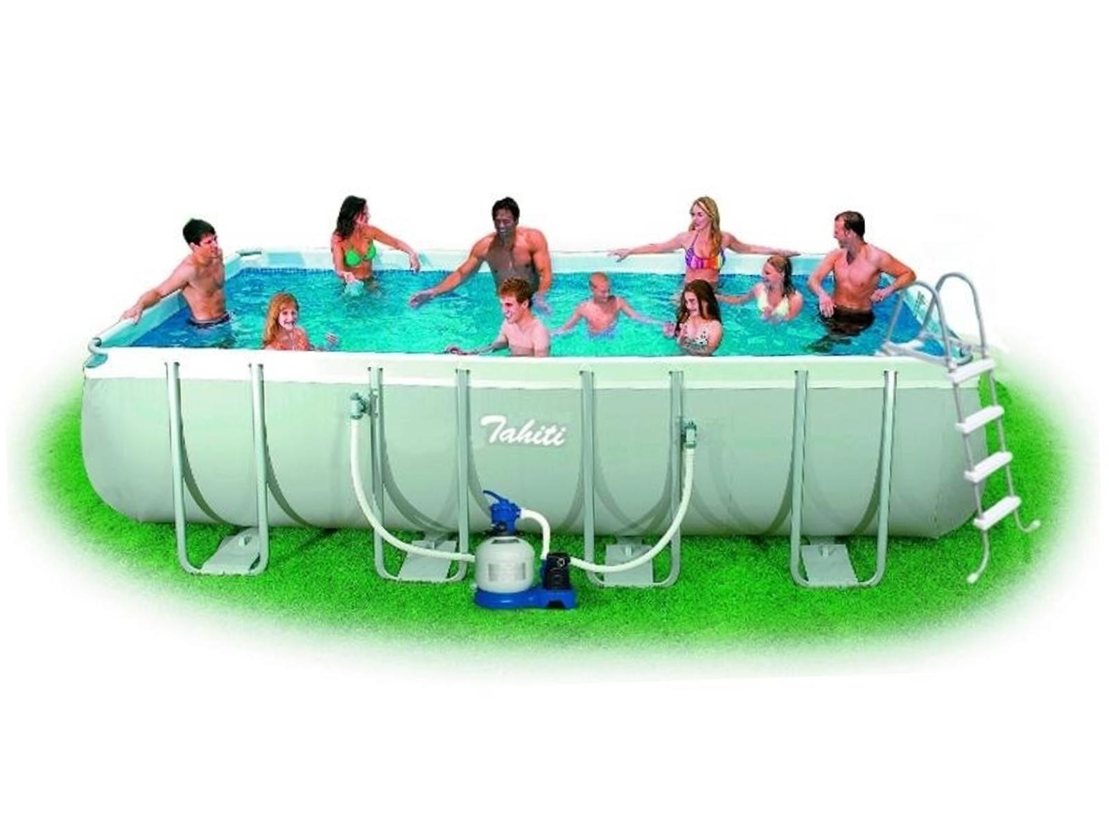 Bazén MARIMEX Florida Premium 274 x 549 x 132 cm set s pískovou filtrací