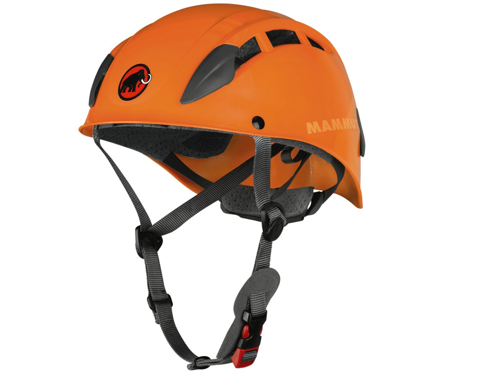 Horolezecká přilba MAMMUT Skywalker 2 oranžová, vel. 53-61 cm