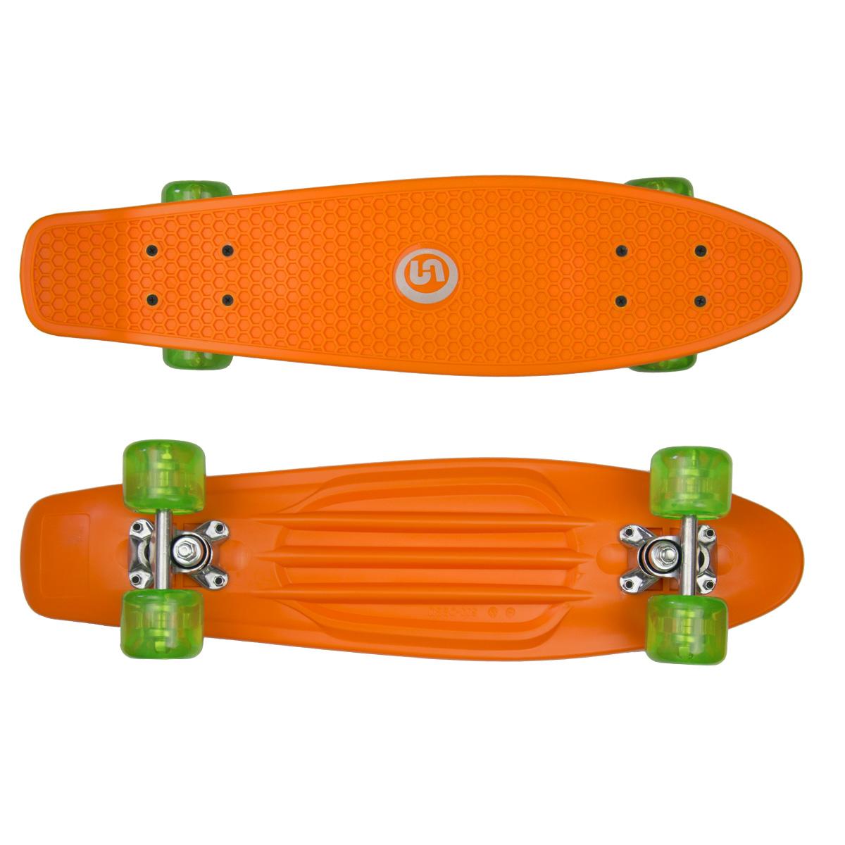 """Plastik Board SPARTAN 24,5"""" - oranžový"""