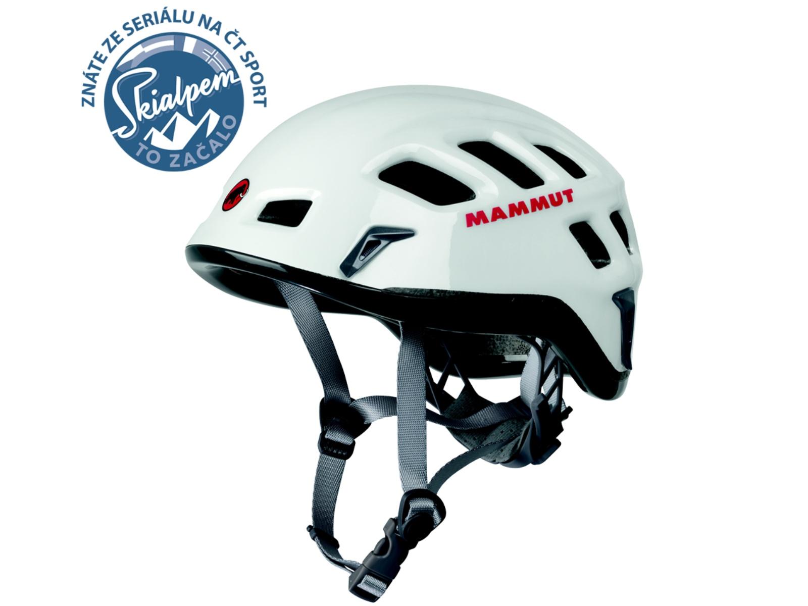 Horolezecká přilba MAMMUT Rock Rider bílá, vel. 52-57 cm