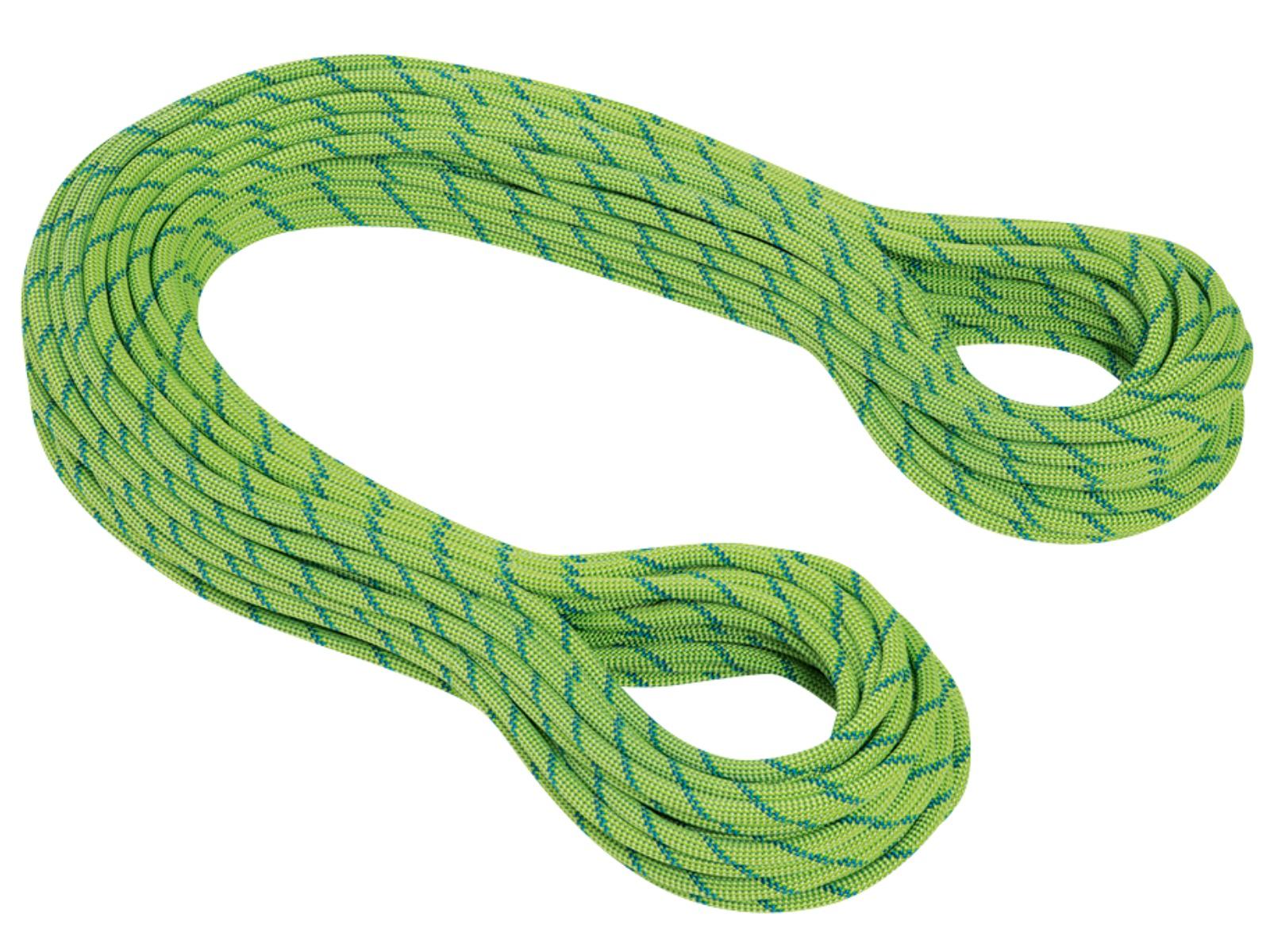 Horolezecké lano MAMMUT 7.5 Twilight Dry 60 m - zelené