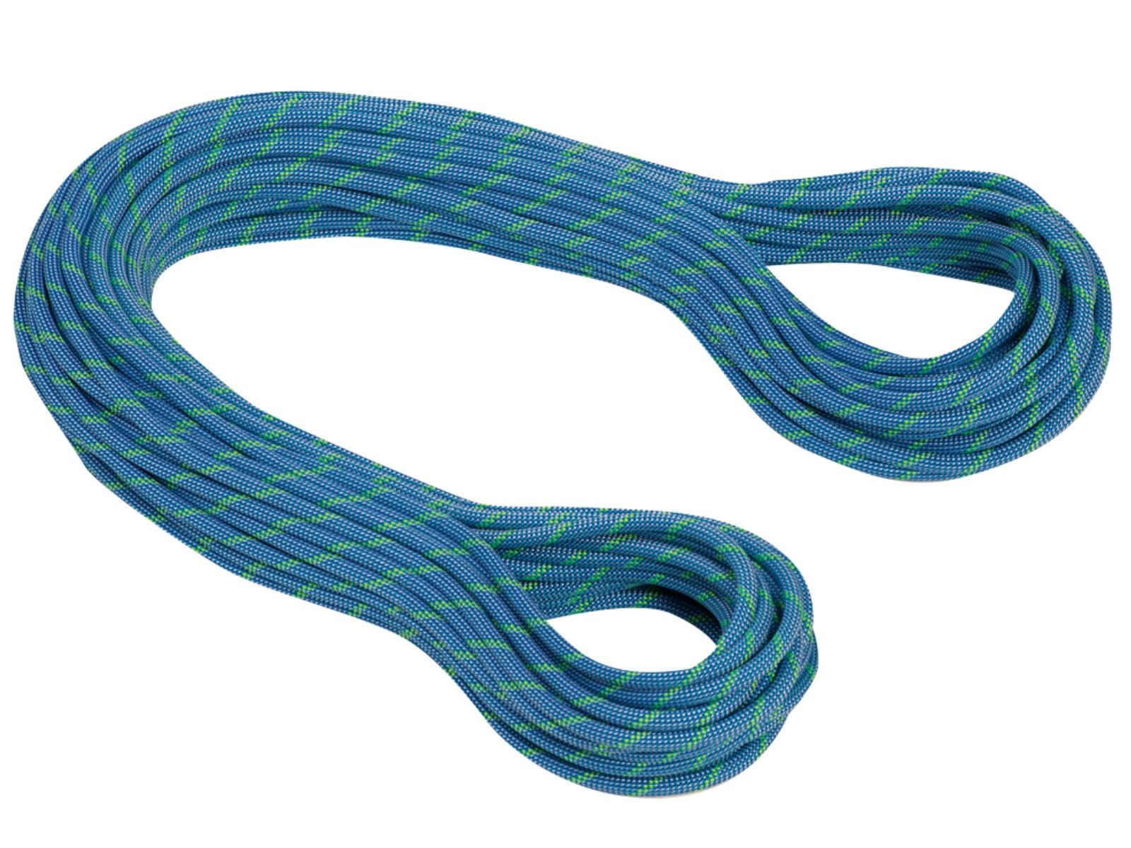 Horolezecké lano MAMMUT 7.5 Twilight Dry 50 m - modré
