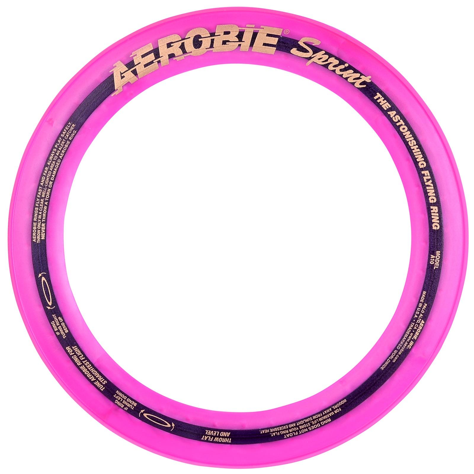 Létající kruh AEROBIE Sprint fialový