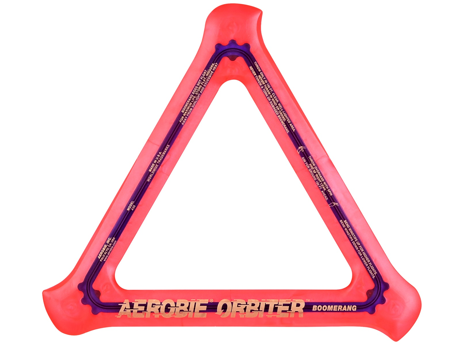 Bumerang AEROBIE Orbiter oranžový