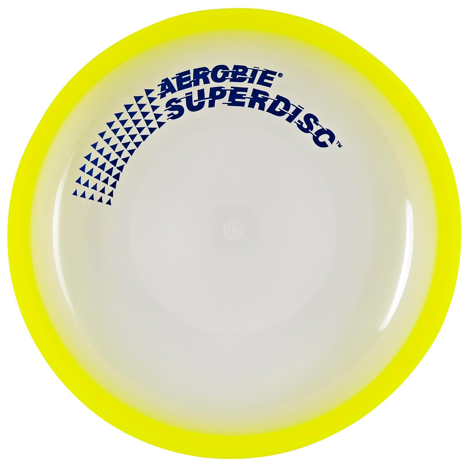Létající talíř AEROBIE Superdisc žlutý