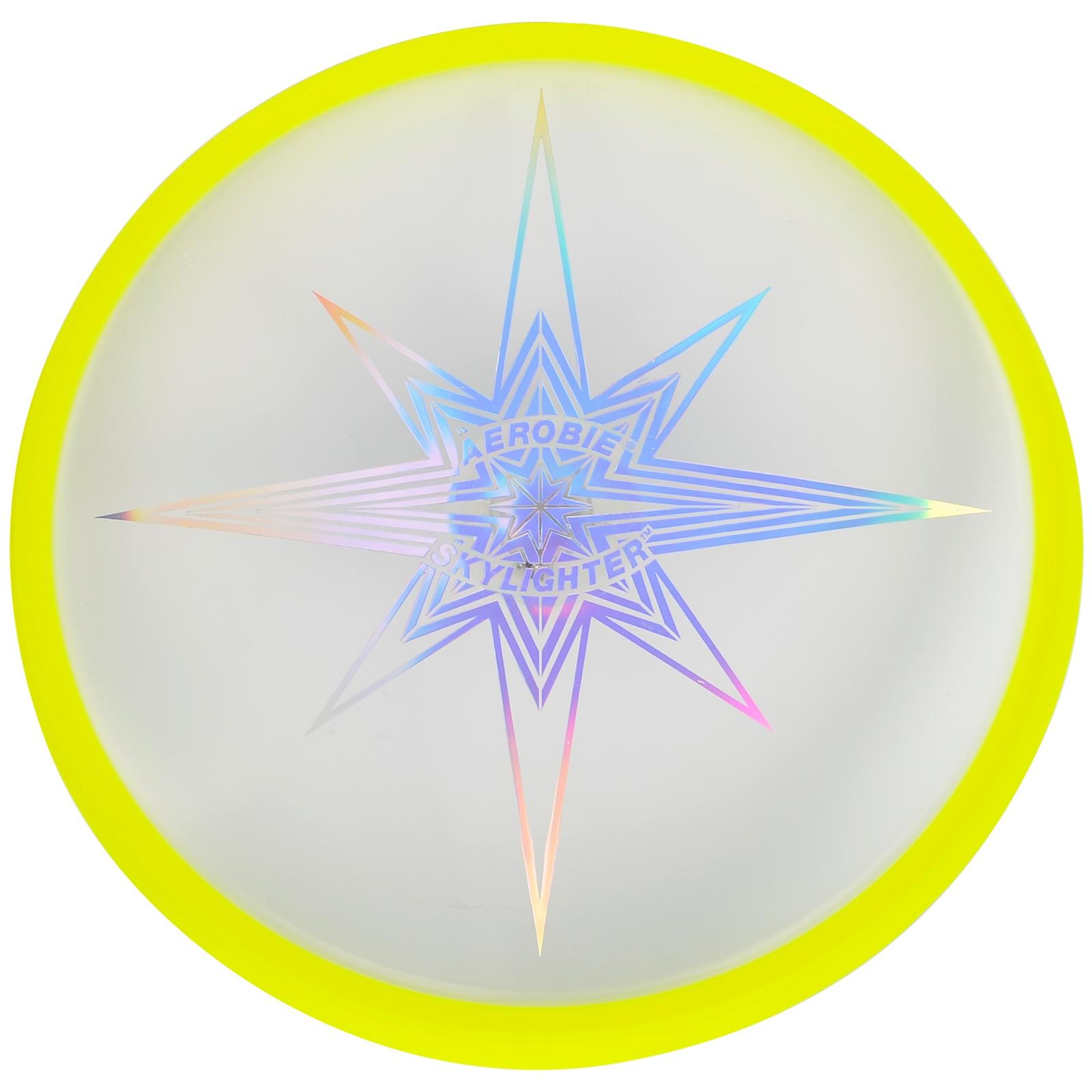 Létající talíř AEROBIE Skylighter žlutý