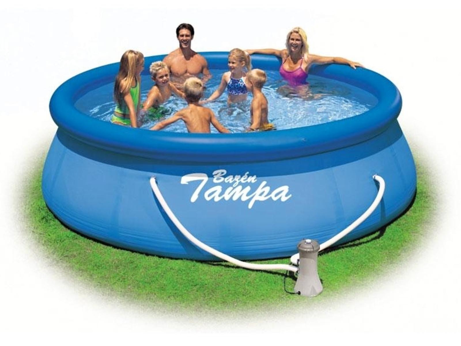 Bazén MARIMEX Tampa 366 x 91 cm set s kartušovou filtrací
