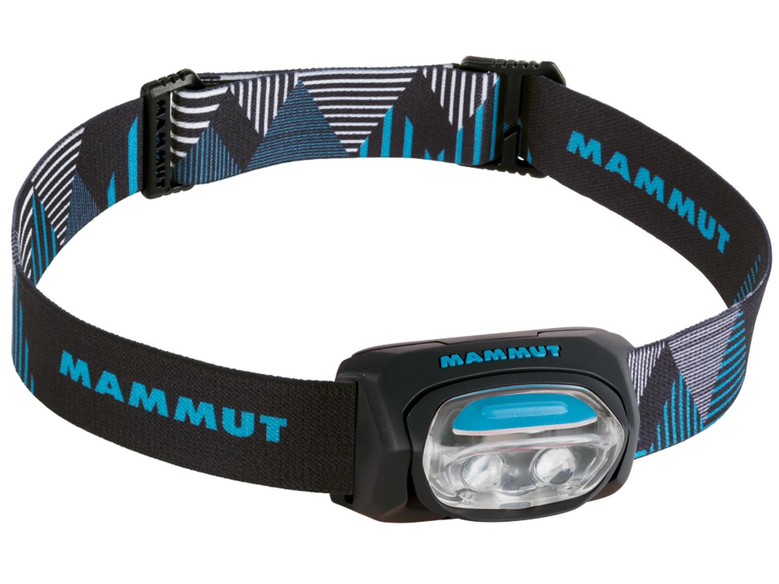 Čelovka MAMMUT T-Base - černo-modrá