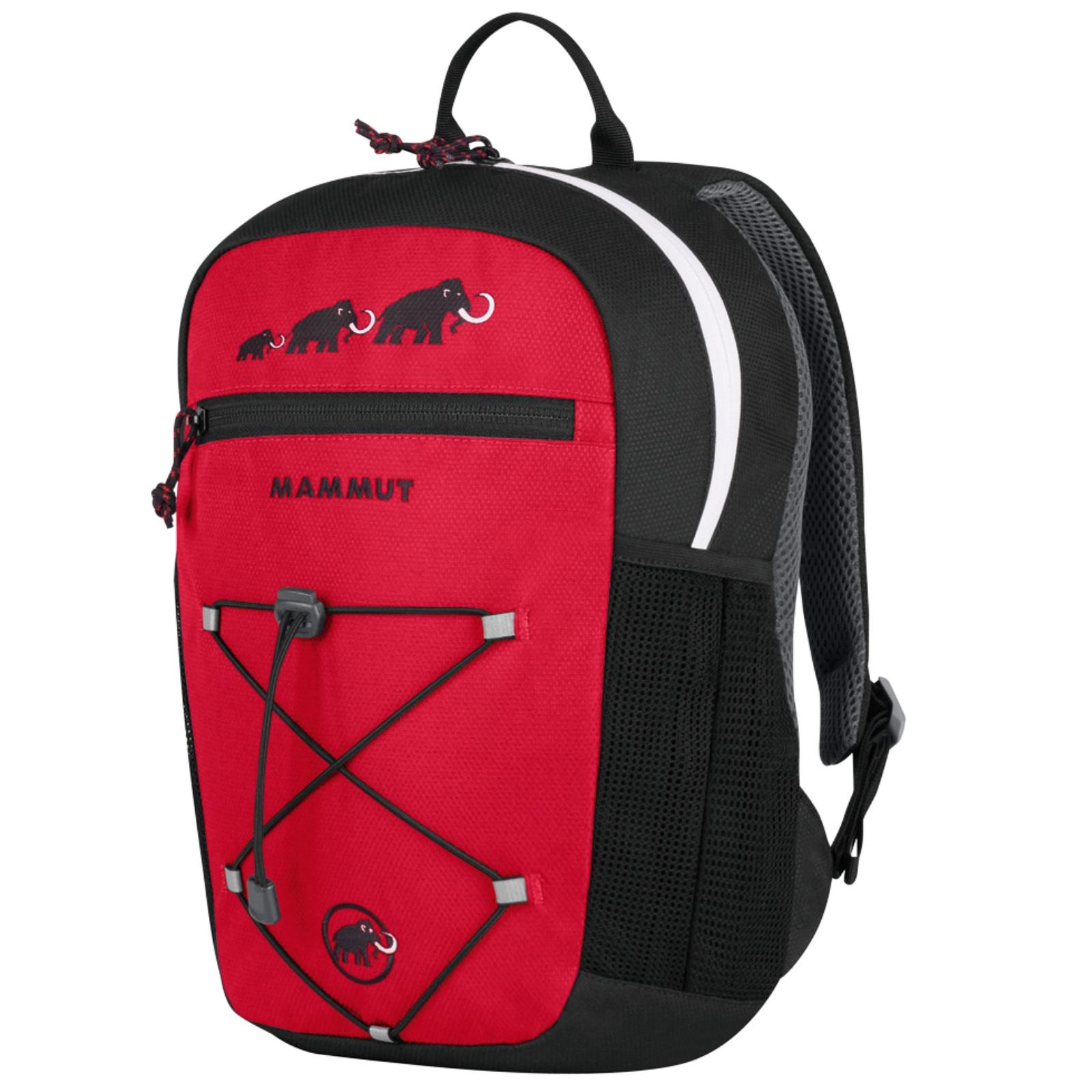 Dětský batoh MAMMUT First Zip 8 - červeno-černý