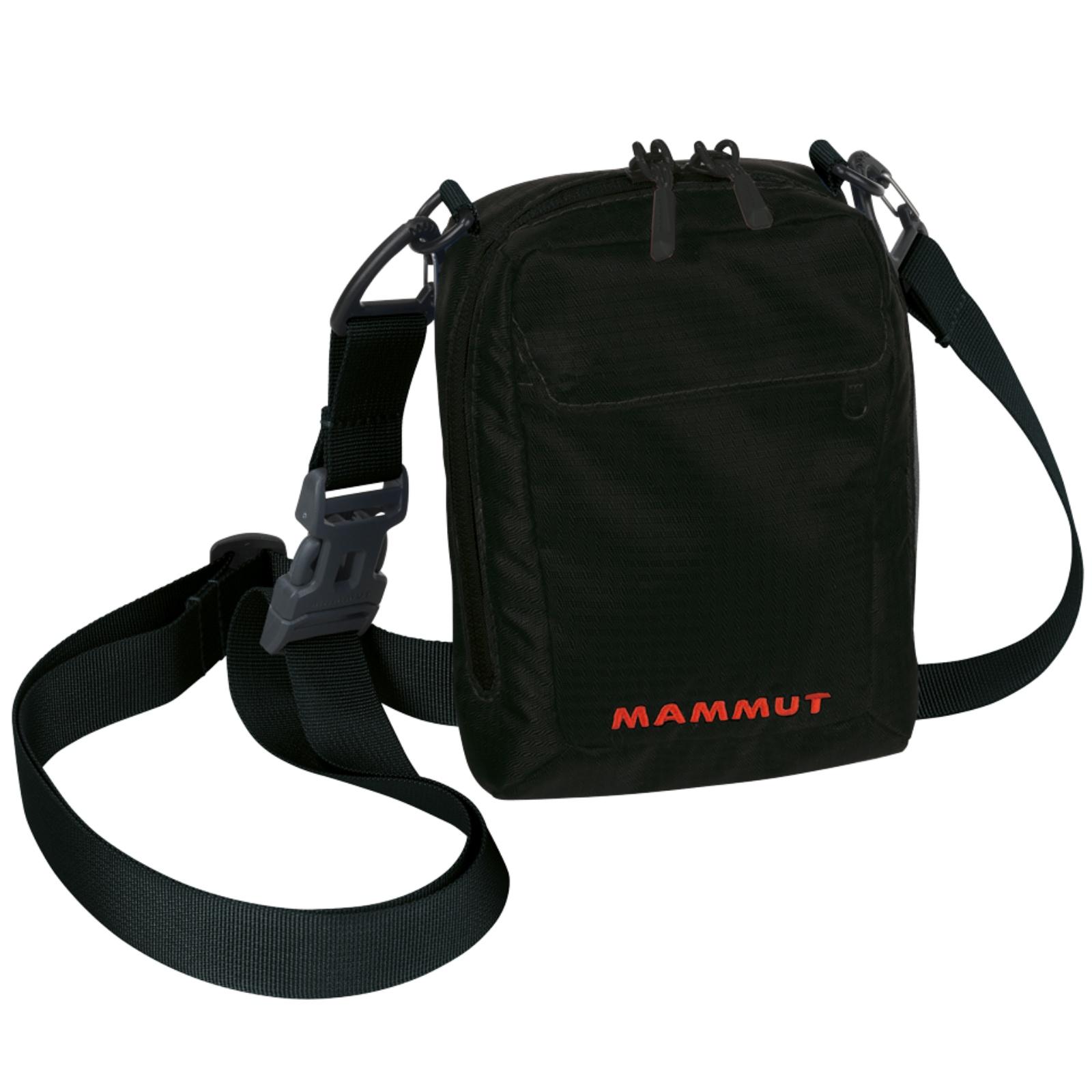 Taštička přes rameno MAMMUT Pouch 1 - černá