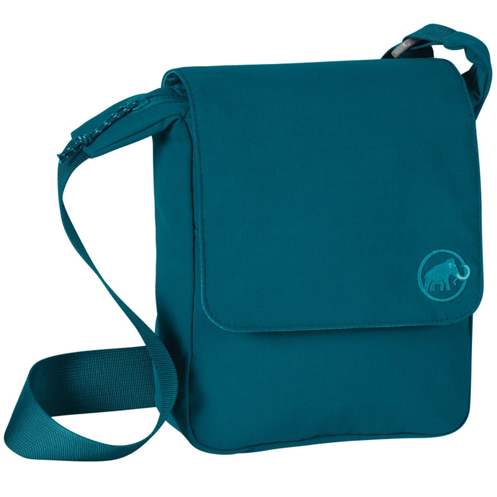 Taška MAMMUT Shoulder Bag Square 4 - tm. zelená