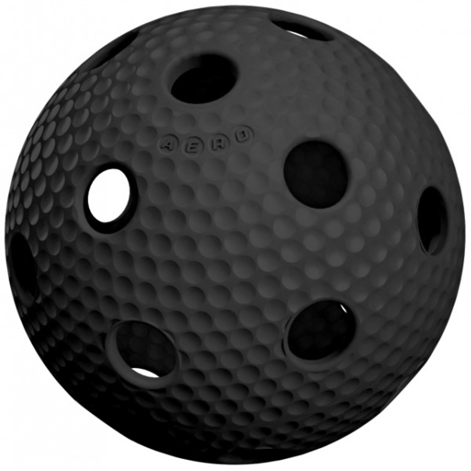 Florbalový míček SALMING Aero Plus Ball - černý
