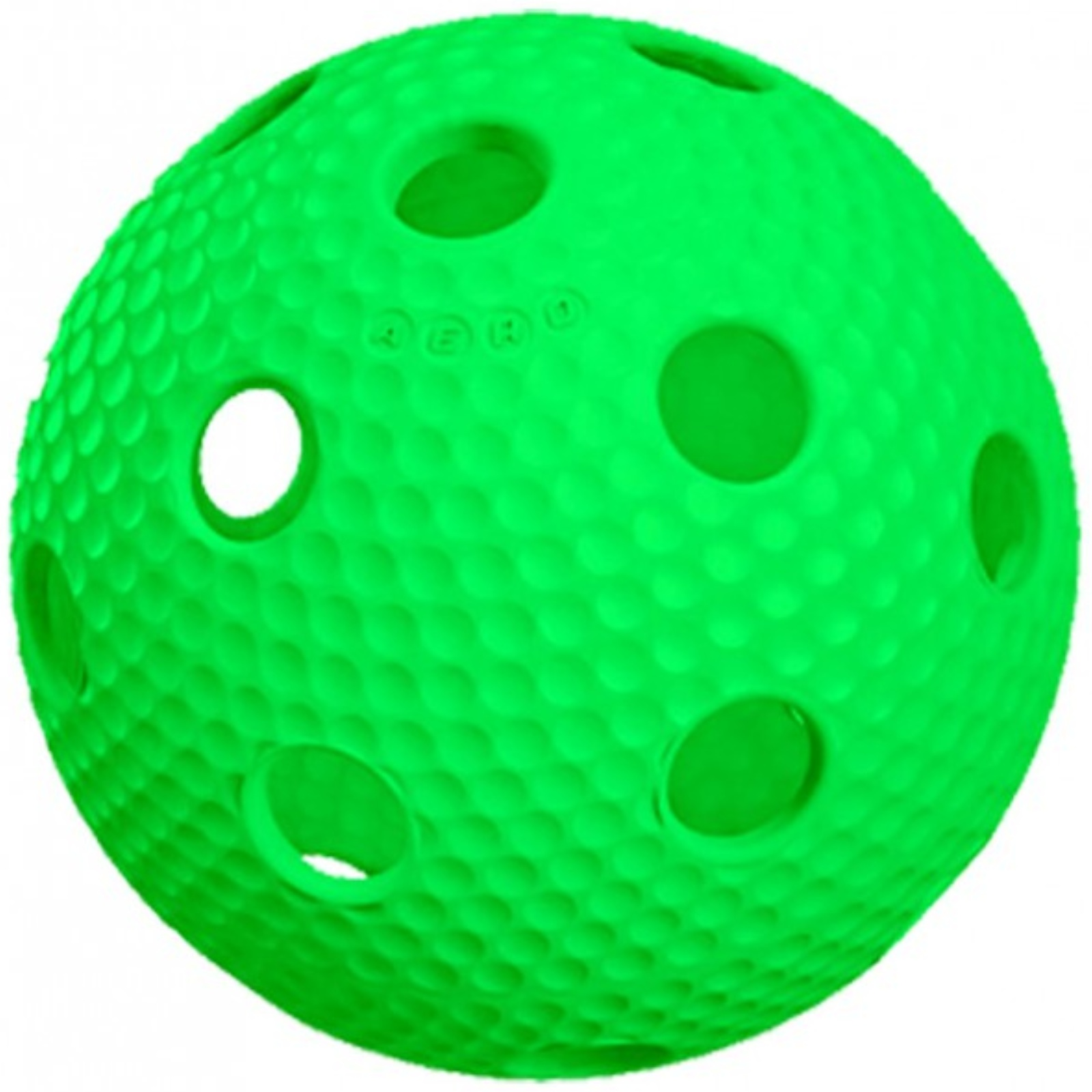 Florbalový míček SALMING Aero Plus Ball - zelený