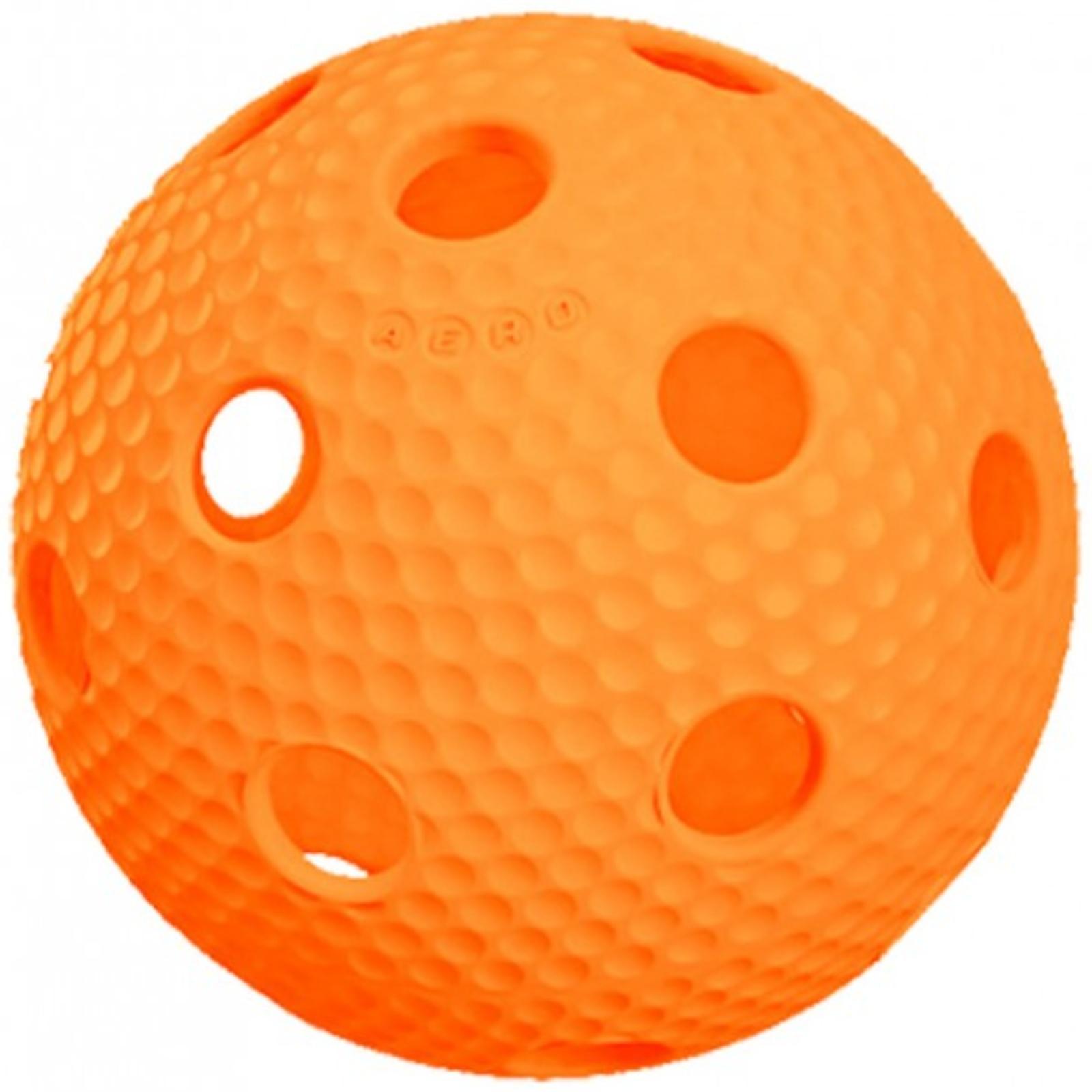 Florbalový míček SALMING Aero Plus Ball - oranžový