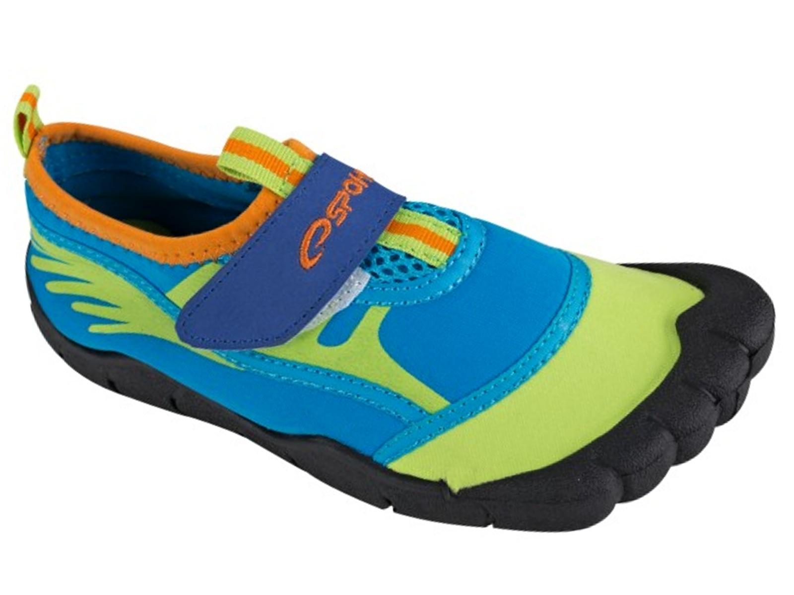 Boty do vody SPOKEY Seafoot chlapecké modré - vel. 33