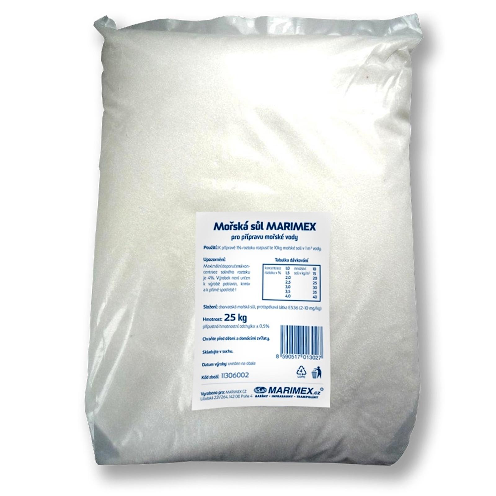Mořská sůl MARIMEX - 25 kg