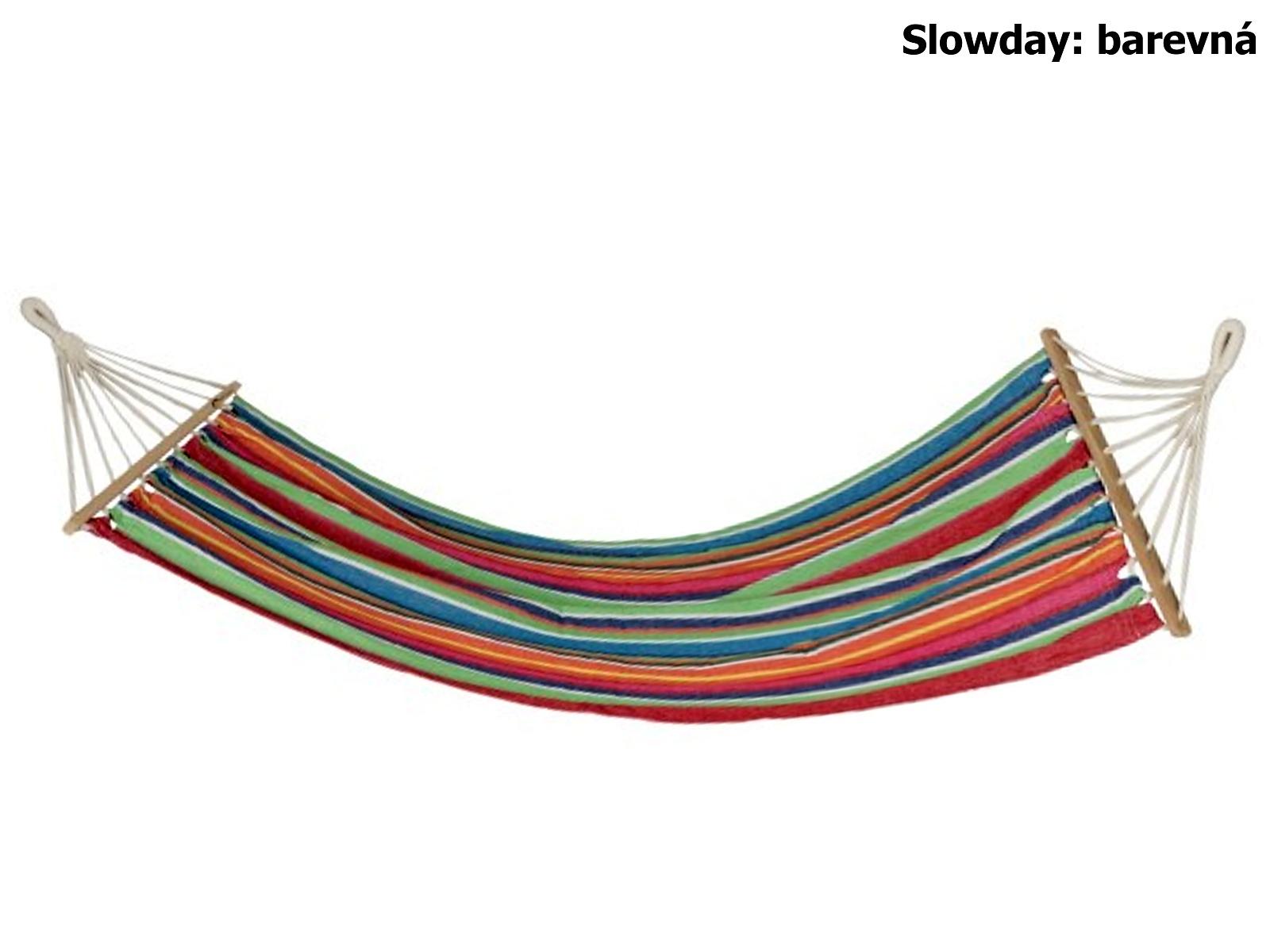 Houpací síť SPOKEY Slowday barevná