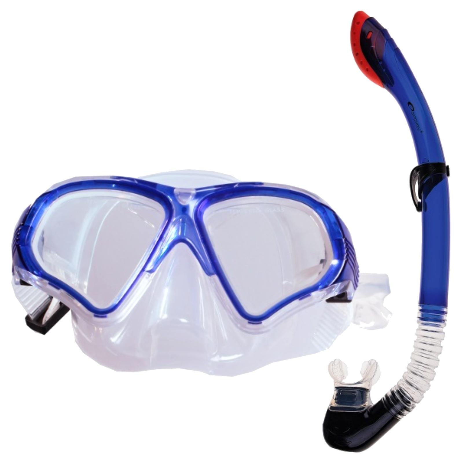 Potápěčský set SPOKEY Tortuga modrý