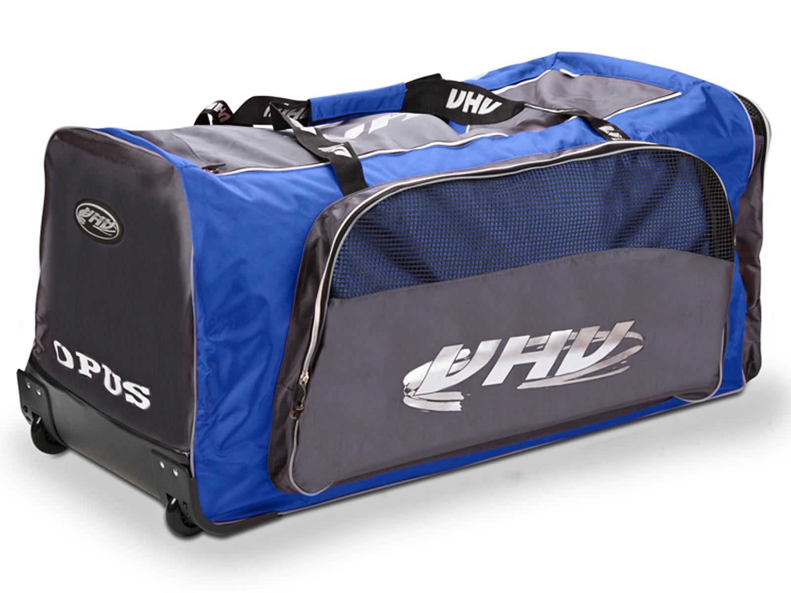 Hokejová taška OPUS 4088 na kolečkách junior modro-šedá