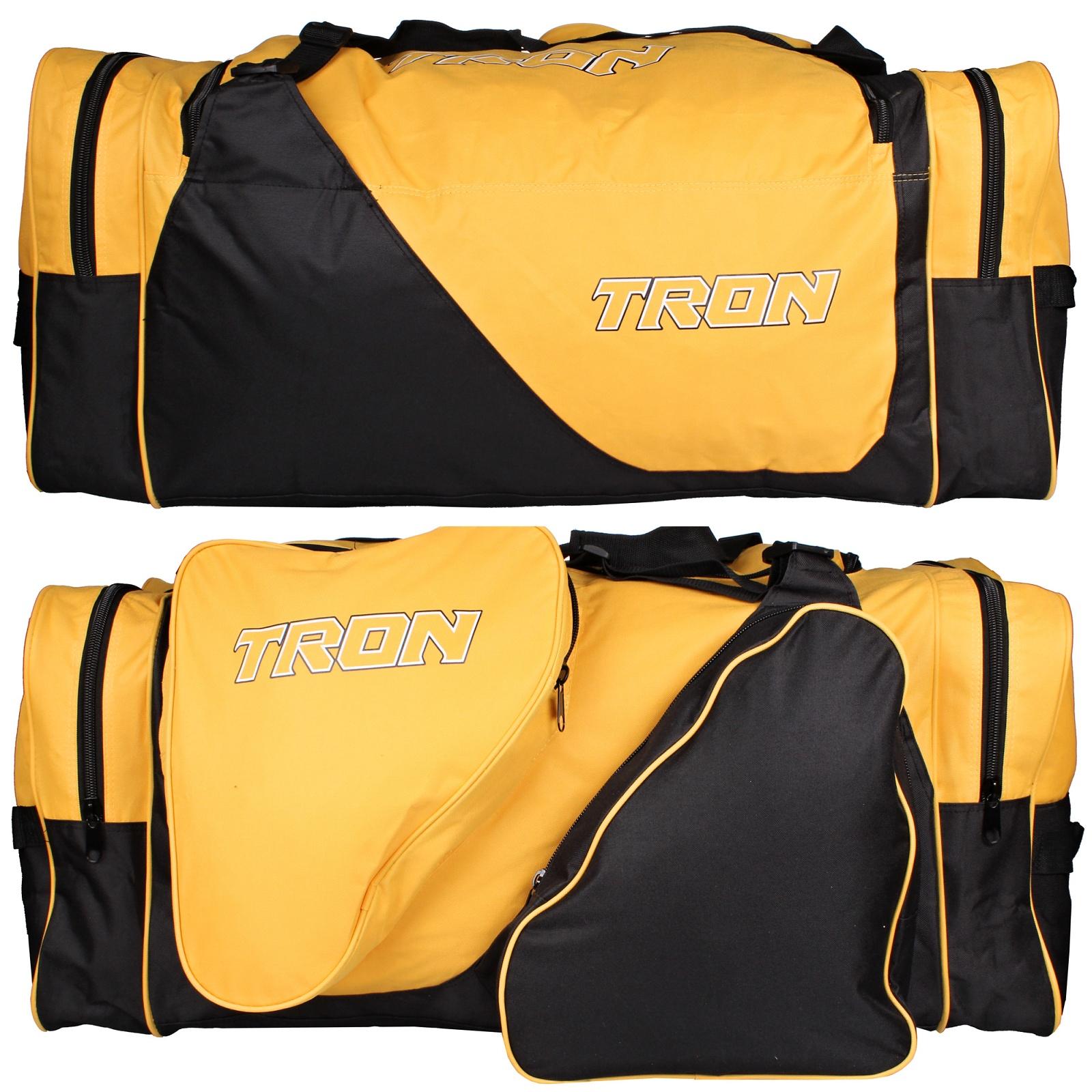 Hokejová taška TRON Locker Bag SR žluto-černá