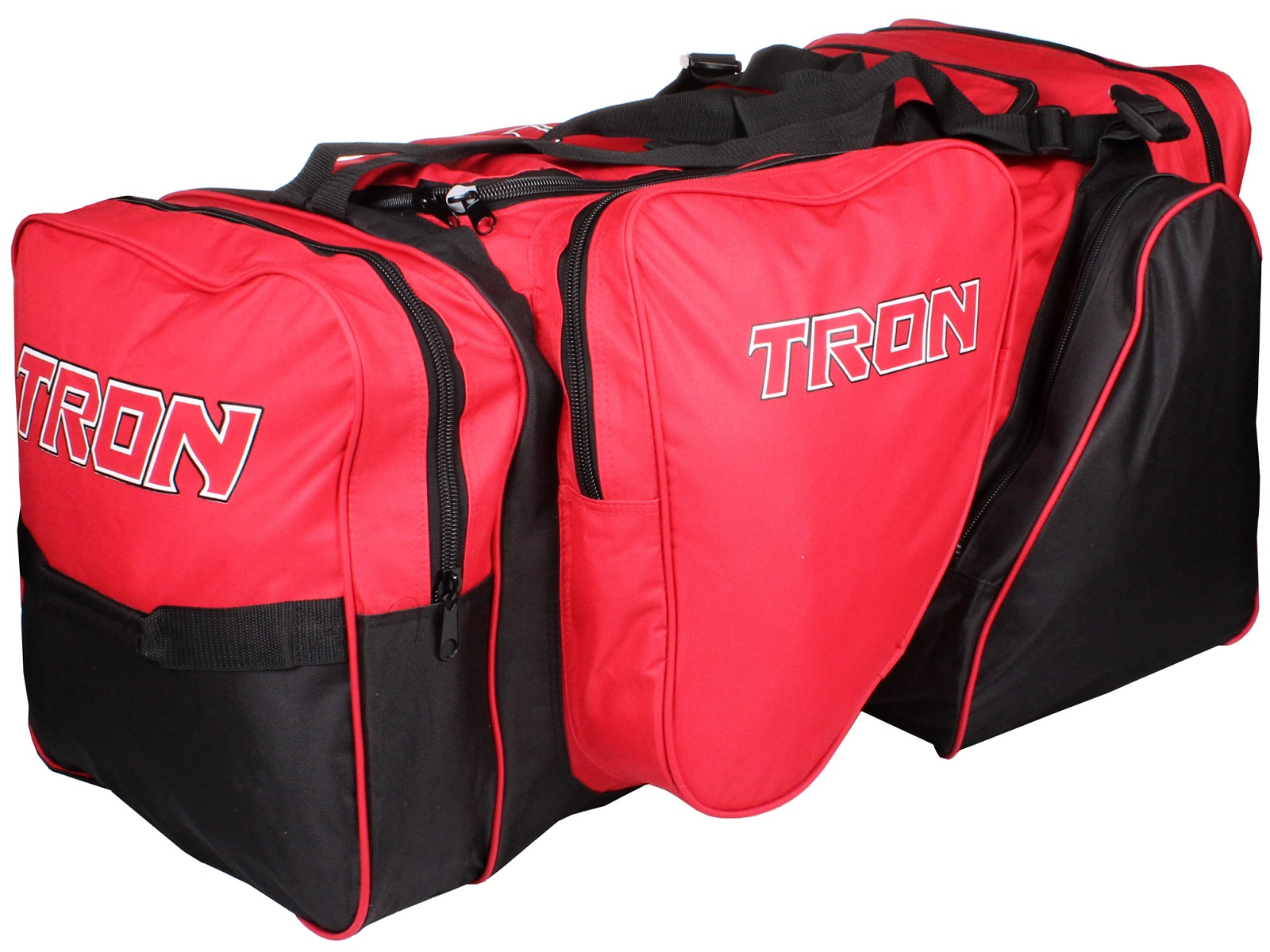 Hokejová taška TRON Locker Bag SR červeno-černá
