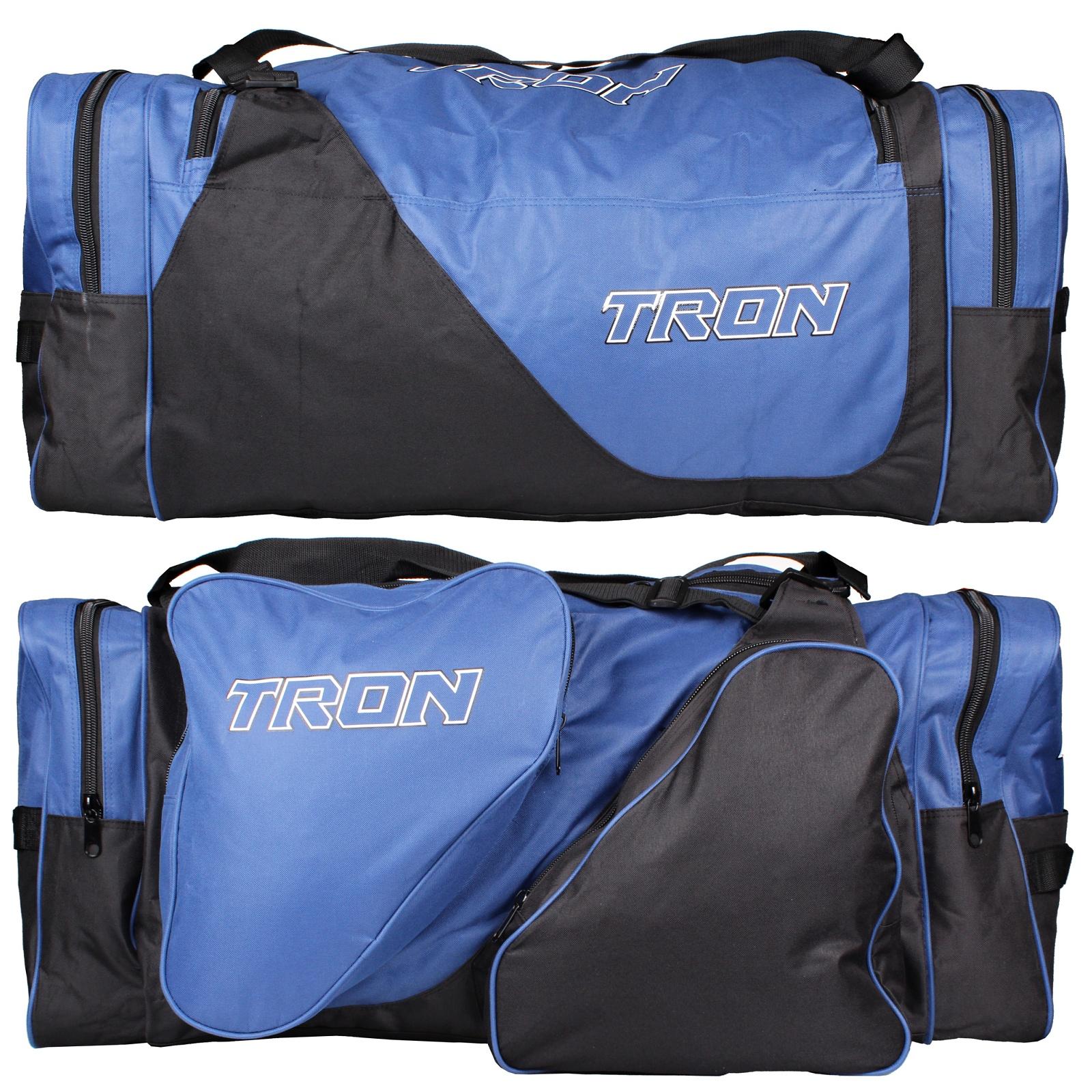 Hokejová taška TRON Locker Bag SR modro-černá