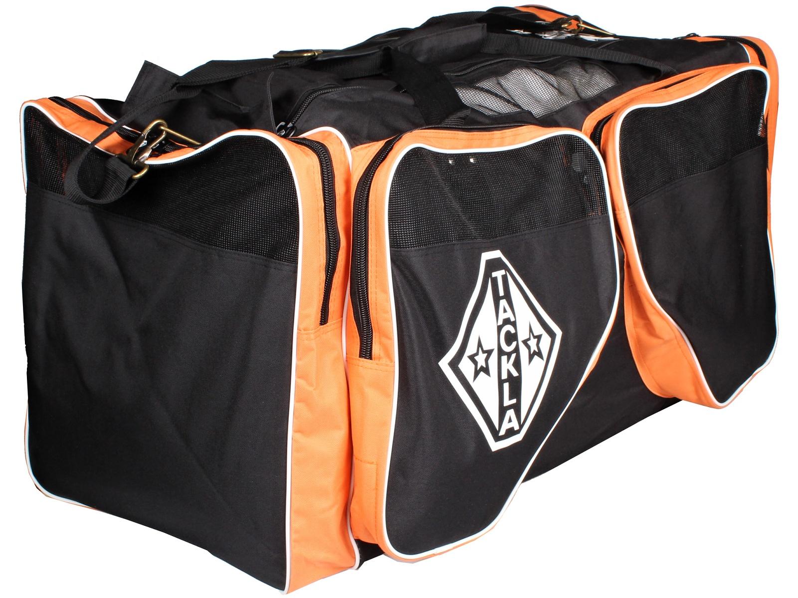 Hokejová taška TACKLA VE Equipment Bag SR černo-oranžová
