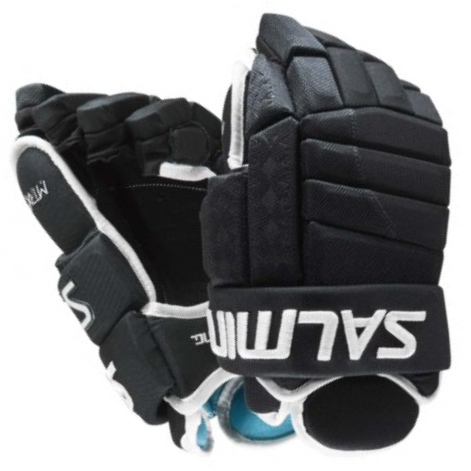 """Hokejové rukavice SALMING MTRX 21 černé - vel. 14"""""""